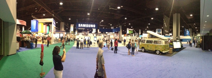 The Exhibition Space at ISTE14