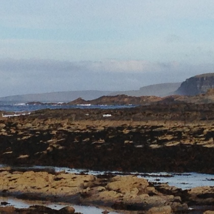 Rousay & Westray seen from Birsay