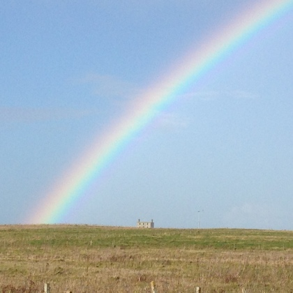 Rainbow on Sanday